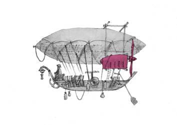 Drakkar Airship by Ecthelion-2