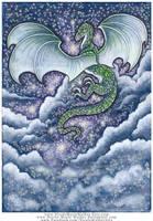 Celestial Dragon by Nicole-Marie-Walker