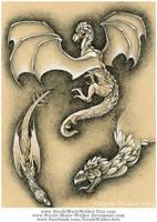 Dragon Study by Nicole-Marie-Walker
