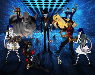 Steam Powered Giraffe - The Blue Room by thelovelyfreak