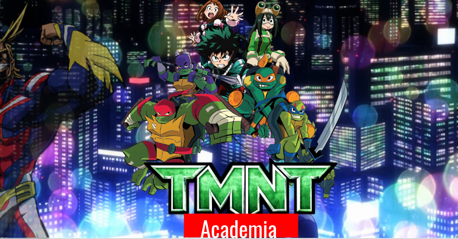 tmnt academia(digital) by soundbreaker1235
