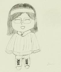 Chibi Me, kinda ^_^ by LauraRola