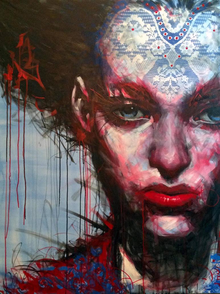Urban's woman by OAK-Art-Gallery