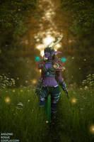World of Warcraft, Ysera - Emerald Dream by AmazingRogue