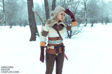 The Witcher 3. Ciri by AmazingRogue