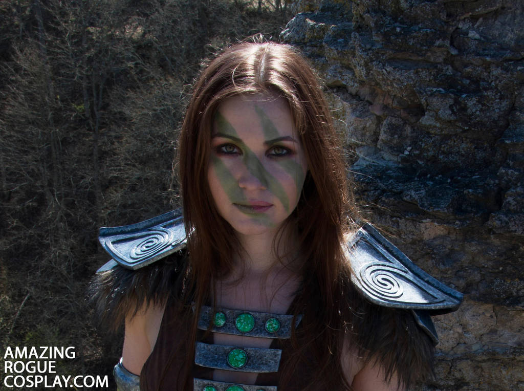 Skyrim, Aela the Huntress by AmazingRogue