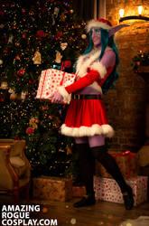 Winter Veil, NIght Elf by AmazingRogue