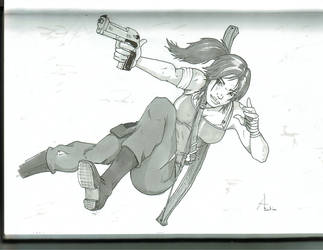 Lara Croft - Tomb Raider Reborn by tim-grave