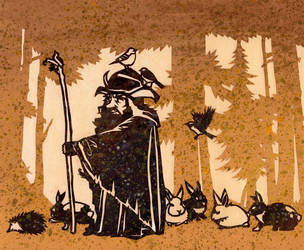 Radagast and Company by Paperflower86