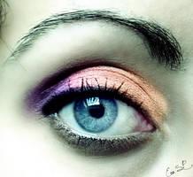 Sunset eye by Chuchy5