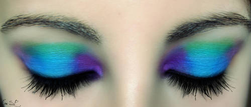 Summer makeup by Chuchy5