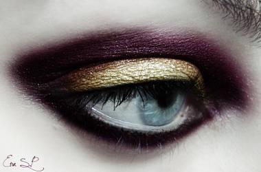 Xmas Glam makeup by Chuchy5