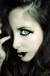 Batman inspired makeup by Chuchy5