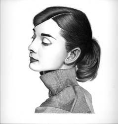 Audrey Hepburn by jvrodd2000