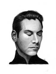 Keanu Reeves by jvrodd2000