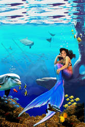 Cathy the Mermaid by jvrodd2000