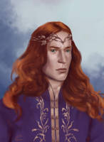 Maedhros by RenePainting