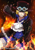 Sabo From One piece by Tenryuushi