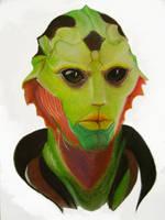 Thane Portrait by Zla-tuska