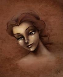 Belle a la Da Vinci by madmoiselleclau