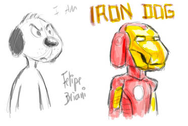 MAX - Iron Dog by FelipeBriani