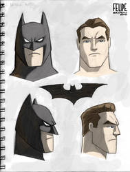 Sketchbook - Batman concept by FelipeBriani
