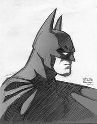 Batman (2012 sketch) by FelipeBriani