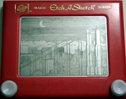 San Francisco Etch by bryanetch