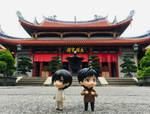 Stranded at Shaolin Temple, not. by xiaoshan-angel
