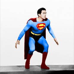 Kirk Alyn as Superman by Anongamer