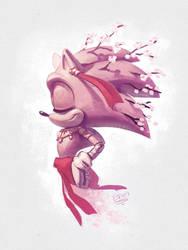 GOTF Sakura Sonic doodle by EvanStanley