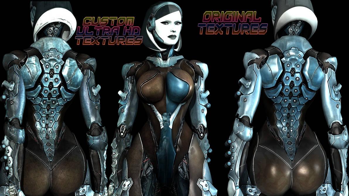 Edi Mass Effect edi ( mass effect ) alternative lock texture modstonez4x on