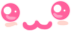 -: Kawaii Pink Emote :- by Cherry-Fizzle