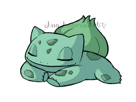 Bulbasaur by AnaPunda