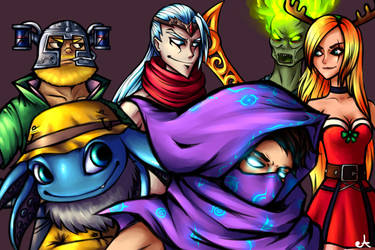 Christmas Gift : League of Legends by AnaPunda on DeviantArt