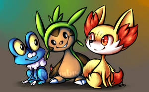 Pokemon X Y by AnaPunda