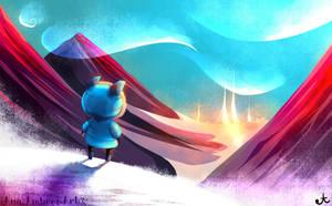 Speedpaint: Winter by AnaPunda