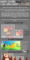 Lineart Tutorial [How I Draw Lineart] by AnaPunda