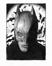 Batman Pencil Drawing.. by ayush627