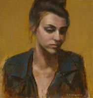 Diana portrait painting by krasuckas