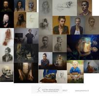 2013 artworks by krasuckas