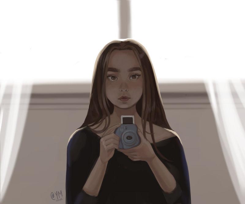 Polaroid by ArtOfAyanami