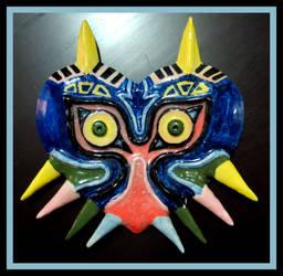 Ceramics - Majoras Mask by Tomo-Chi