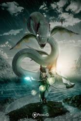 Summoning Leviatan by Trunks-Z