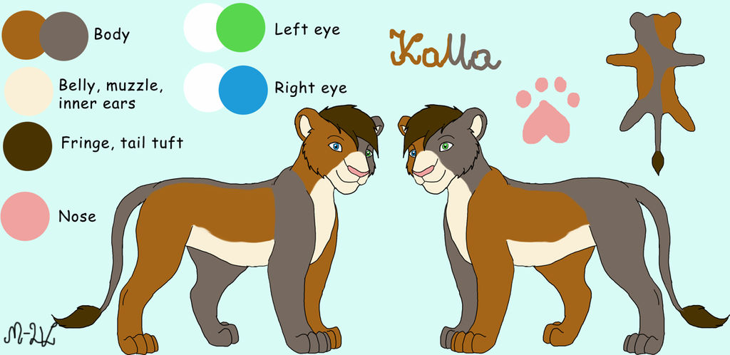 Kalla - new reference by M-WingedLioness
