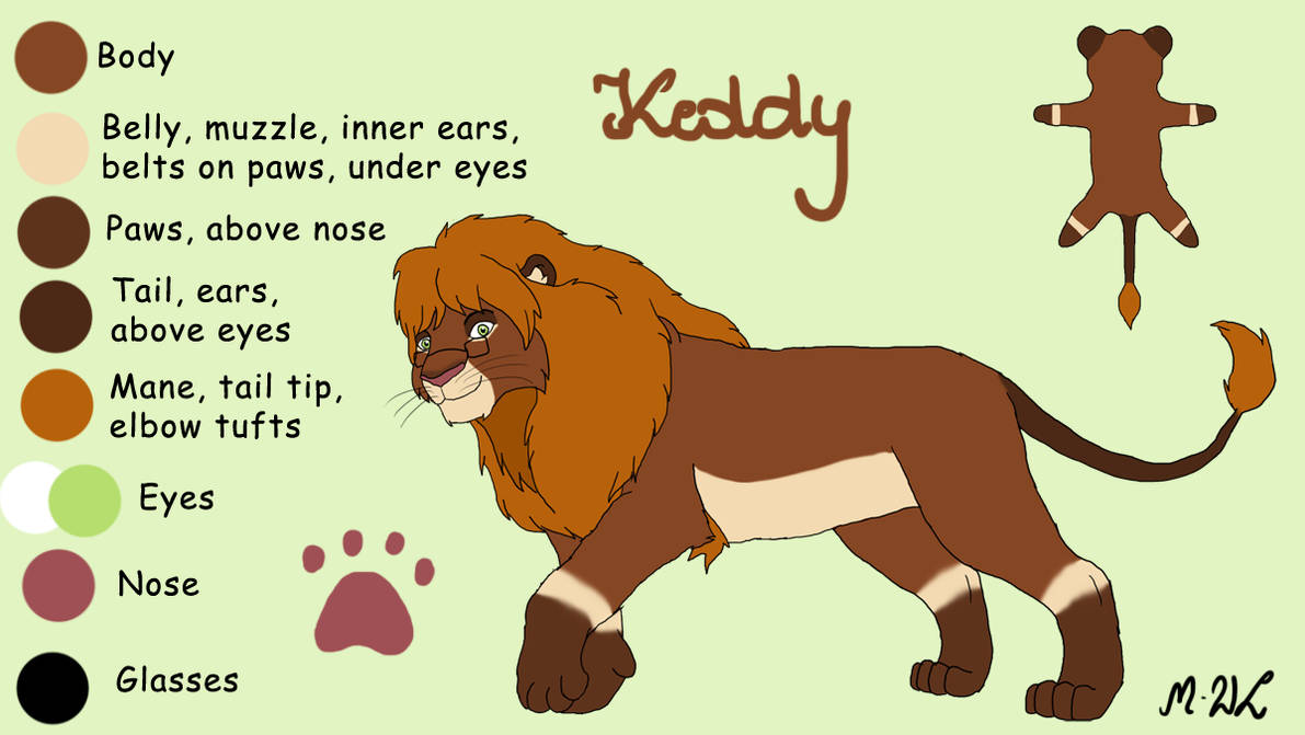 Keddy - new reference (new design) by M-WingedLioness