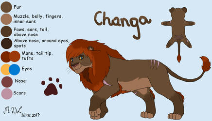 Changa - contest entry ADOPTED by M-WingedLioness