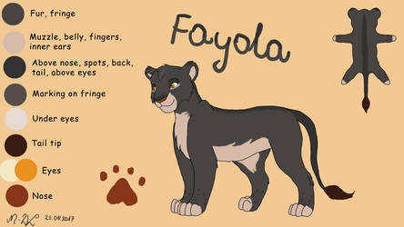 Fayola - contest entry FOR ADOPT by M-WingedLioness