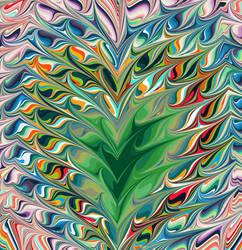 Le heart vert by edruapp