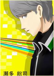 Souji Persona 4 Fanart by Maro-Millerblodd